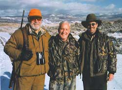 Actor Gerald McRaney, Jim McCarthy, and TV Host Chris Dorsey